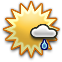 icon Showers in the morning then continued cloudy and windy in the afternoon